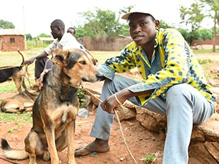 Rabies Vaccinations in Africa