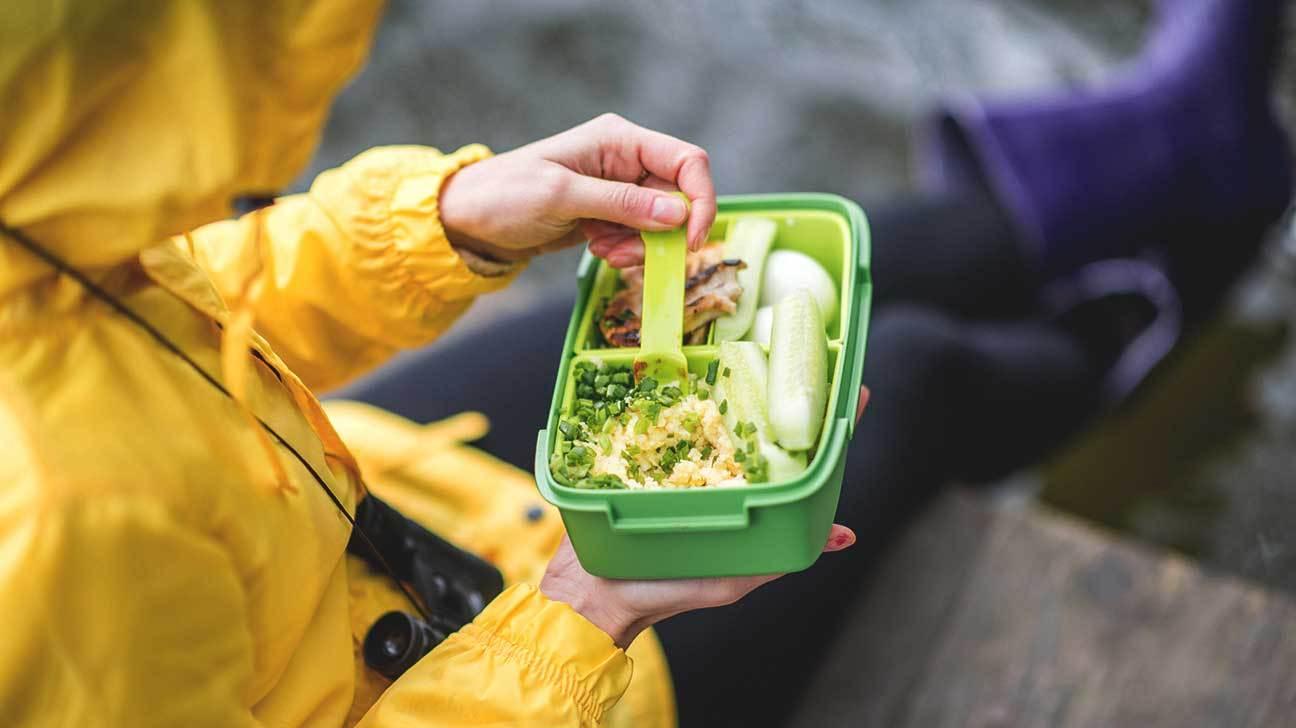 Plastic Container Food