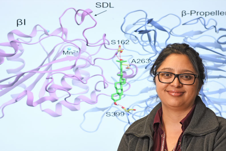 Swechha Pokharel, first author of a paper on the discovery in Nature Communications